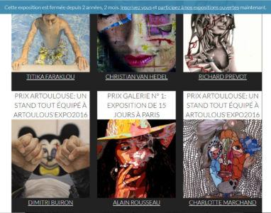 Lauréat de la Galerie N°1 au Concours MyRankArt  Paris