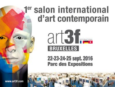 First international fine art exhibition art3f inHeysel in Bruxelles (Belgium) 09 2016