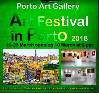 "Brochure "" Art Festival"" à Porto 03 2018"