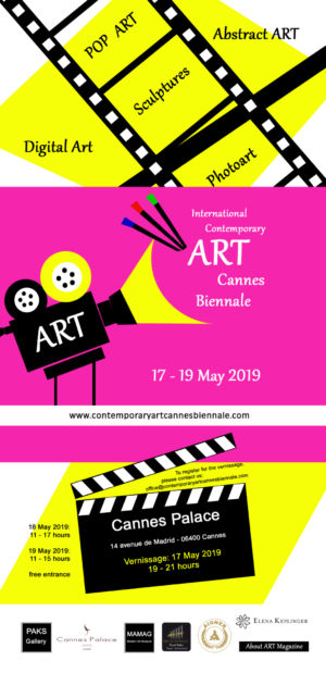 Exhibition Cannes Biennale may 2019 (France)