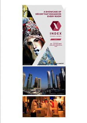 Exhibition INDEX design series World trade center Dubaï (U.A.E.)  05 2017