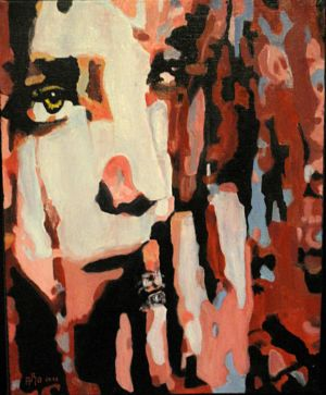Ais-je bien fait (Have I done well) 50x60 cm oil on canvas