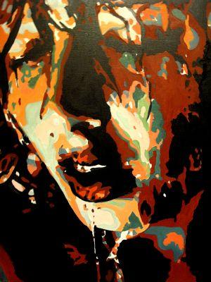 """""""Aprés la pluie""""  (After the rain) 80x100cm   oil on canvas"""
