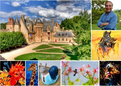 Exposition Festival Art et Nature d'Ainay le Vieil (France) 06 2016
