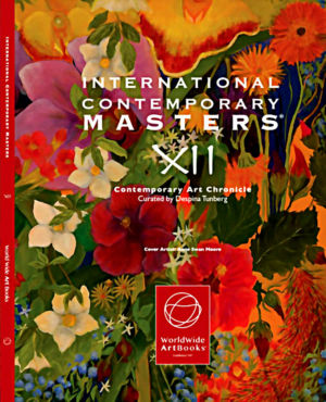 "Couverture livre "" International contemporary masters XII "" USA 03 2018"