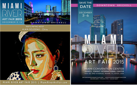 Exhibition in the Miami River Art Fair  Miami (USA) 12 2015