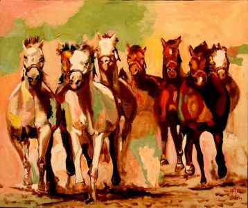 Escapade 50x60 cm oil on canvas