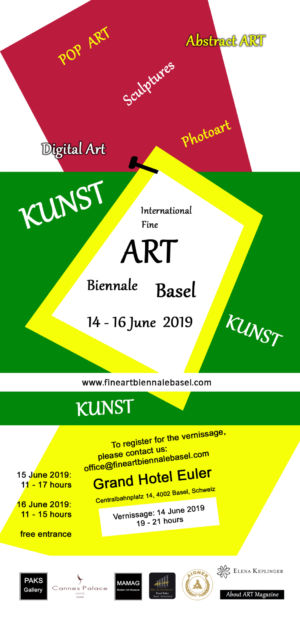 Exhibition Art Basel june 2019 Switzerland