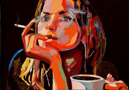 """ Impatience"" 50x70cm oil on canvas"