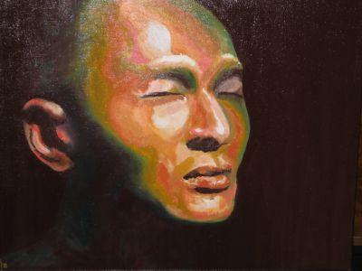 """Introspection"" (Introspection) 40x50cm oil on canvas"