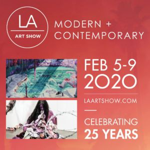 Participation in the LA ARTSHOW exhibition in Los Angeles (USA) with the ARTIFACT gallery from February 5 to 9, 2020
