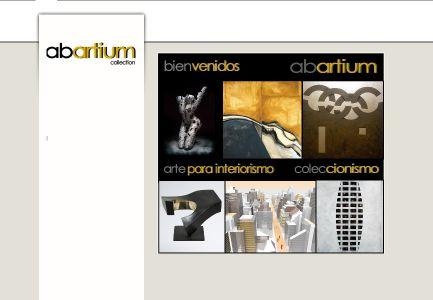 "Exposition ""Collectiva contemporania"" à la galerie Abartium à Barcelone (Espagne) 06 2016"