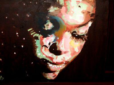 """""""Méditation"""" 50x60cm  oil on canvas"""