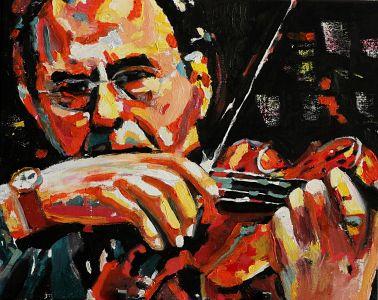 """Allegro"" 40x50cm  oil on canvas"