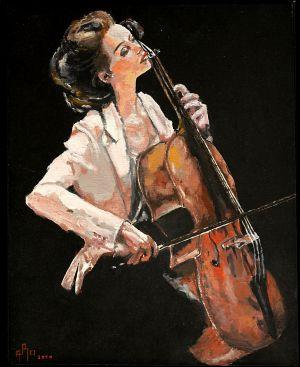 """Inspiration"" 50x60cm   oil on canvas"
