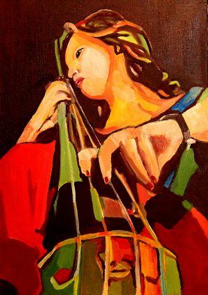"""""""Pieta mélody"""" 50x70cm oil on canvas"""