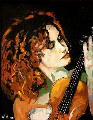 """Pizzicato"" 50x60cm oil on canvas"